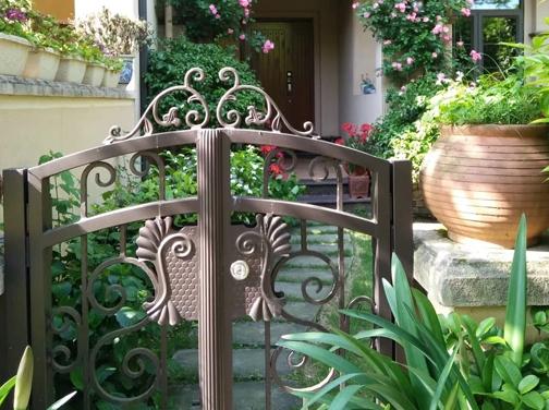 铸铝庭院门 栏杆 车库蓬 伸缩蓬