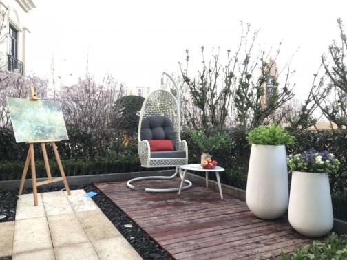 中广悦府样板间花园景观软装